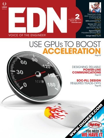 USE GPUs TO BOOST ACCELERATION - ElectronicsAndBooks