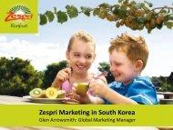 the presentation - Korean New Zealand Business Council