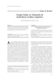 Terapia Celular no Tratamento da Insuficiência Cardíaca Isquêmica