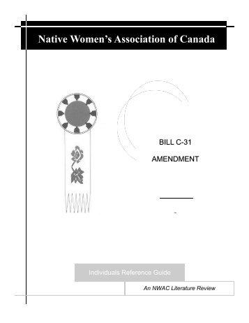 Literature Review - Native Women's Association of Canada Website