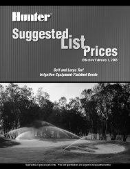 GLIT049-Golf Price List.pdf - Diamond Head Sprinkler Supply