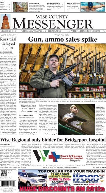 01-30-2013-Midweek - Wise County Messenger