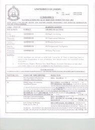 date sheet cum centre notice for master's degree programme iind ...
