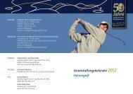 Veranstaltungskalender 2012 Herrengolf - Golfclub Schloss ...