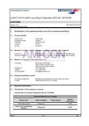 SAFETY DATA SHEET according to Regulation (EC) No ... - AMI-CON