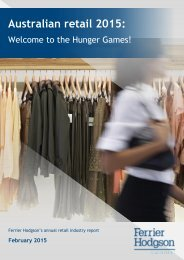 AustralianRetail_2015_Welcome to the Hunger Games