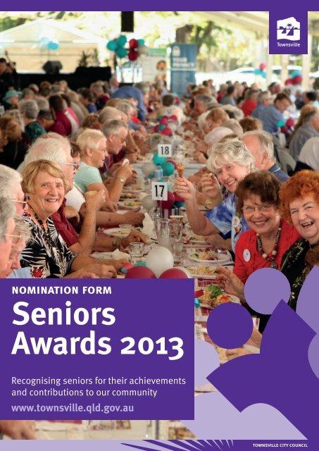 nomination form Seniors Awards 2013 - Townsville City Council