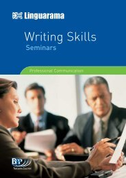 writing skills seminars - Linguarama