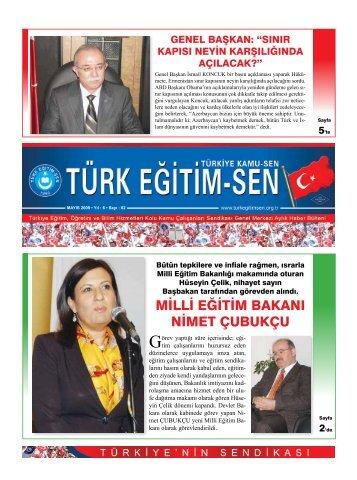milli eğitim bakanı nimet çubukçu - Türk Eğitim-Sen