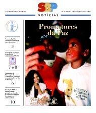 SBP Notícias 18 - Sociedade Brasileira de Pediatria