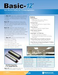 Basic-12 Flyer - Universal Lighting Technologies