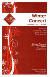 Winter Concert - NOVA Community Chorus