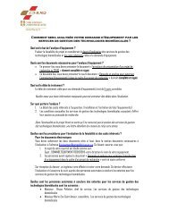 Services techniques - Génie biomédical (PDF) - CHUQ