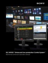 "ELC-MVS01 ""Enhanced Live-production Control System"""