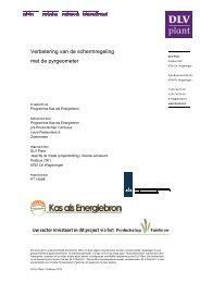Verbetering van de schermregeling met de ... - Energiek2020
