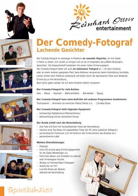Der Comedy-Fotograf - Künstler für Hochzeiten