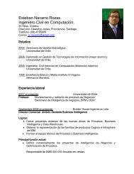 Datos Personales - Departamento de Ciencias de la Computación ...