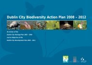 Dublin City Biodiversity Action Plan 2008 – 2012 - Dublin City Council