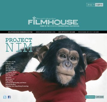 PROJECT - Filmhouse Cinema Edinburgh