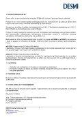 Drifts- og Servicevejledning- - Desmi - Page 4