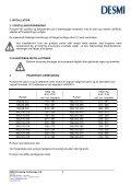Drifts- og Servicevejledning- - Desmi - Page 7