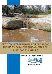 gestión integrada de los recursos hídricos para ... - Cap-Net