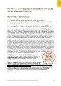 gestión integrada de los recursos hídricos para ... - Cap-Net - Page 7
