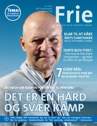 PDF-udgave - Frie Funktionærer