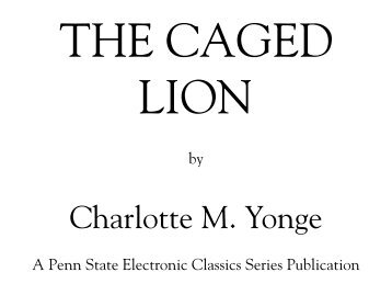 The Caged Lion - Pennsylvania State University