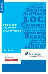 Finding Your Way Around Local Government - Combat Poverty ...
