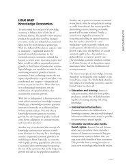 Knowledge Economies