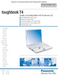 toughbook T4