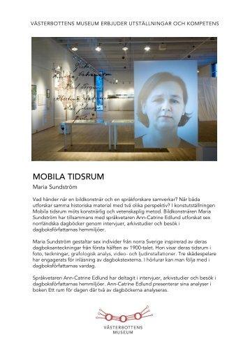 Mobila tidsrum - Västerbottens museum
