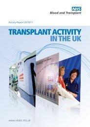 Activity Report 2010-11 - Organ Donation