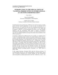 national perspectives on international accounting harmonization