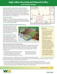 Eagle Valley fact sheet 2011 - Eagle Valley Landfill - Waste ...