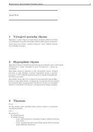 1 Vývojové poruchy thymu 2 Hyperplázie thymu 3 Thymom - Atlases
