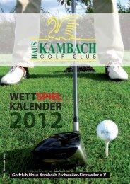 KAMBACH - Golfclub Haus Kambach e.V.
