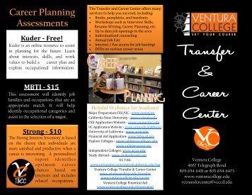 Career Planning Assessments - Ventura College