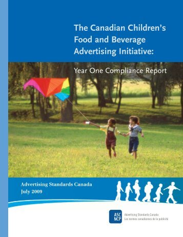 Year One Compliance Report - Advertising Standards Canada