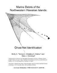Ghost Net Identification - Northwestern Hawaiian Islands Multi ...