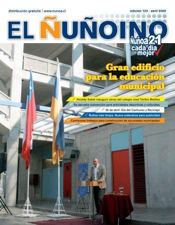 04. 2009 - Municipalidad de Ñuñoa