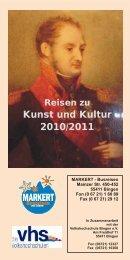 Kunst und Kultur 2010/2011