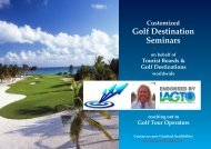 Golf Destination Seminars - Golf Travel Consulting, Inc.
