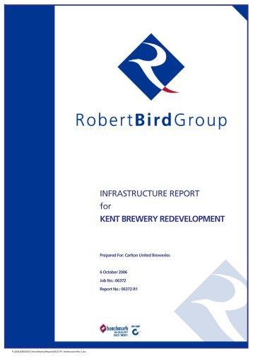 Infrastructure Report - Robert Bird Group - Frasers Broadway