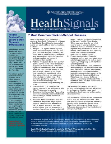 7 Most Common Back-to-School Illnesses
