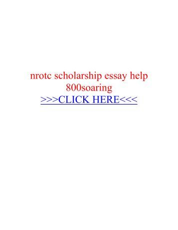 Help writing scholarship essay