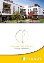 Nue-propriété à Rennes - Haussmann Patrimoine