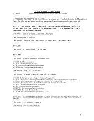 Plano Diretor Participativo - Prefeitura Municipal de Bauru