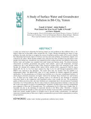 A Study of Surface Water and Groundwater Pollution in ... - Ejge.com